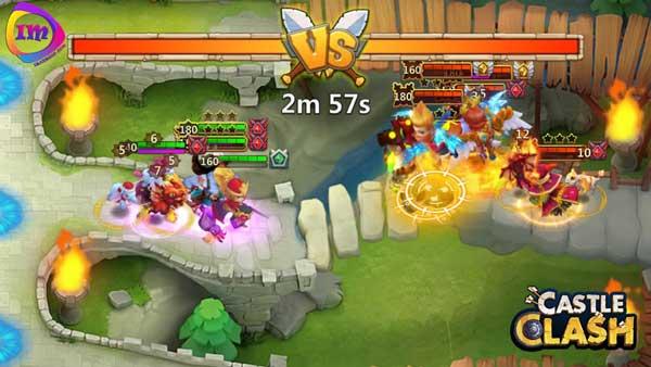 بازی castle clash