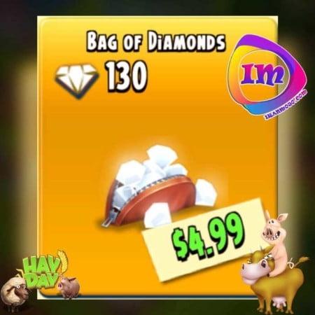 دریافت سریع و ارزان ۱۳۰ الماس هی دی