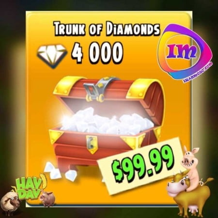 ۴۰۰۰ الماس بازی هی دی