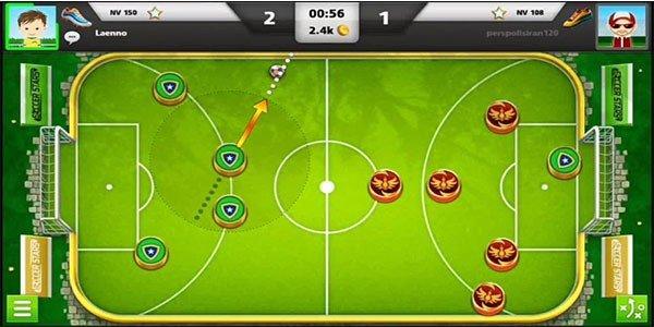 ویژگی های بازی Soccer Stars