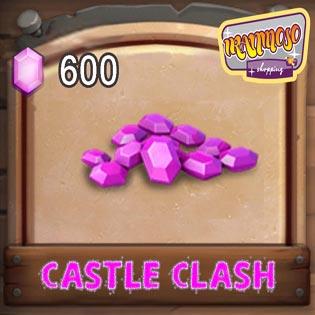 ۲۳۰ الماس کستل کلش(شامل ۳۶۸ الماس)