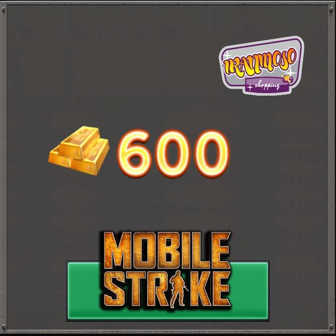 ۶۰۰ طلا موبایل استریک