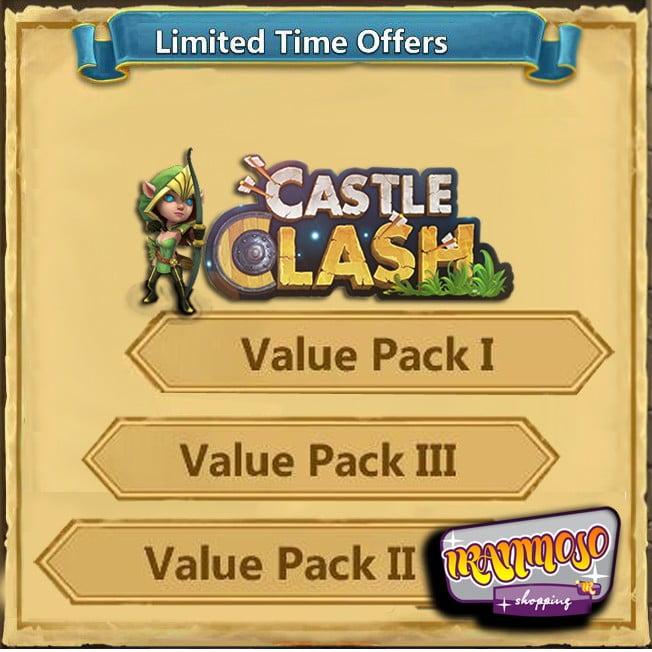 ایونت Value Pack I-II-III