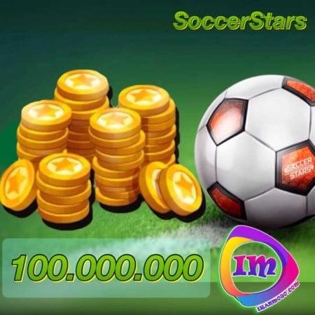 ۱۰۰۰۰۰۰۰۰ سکه ساکر استارز(۱۰۰ میلیون سکه)