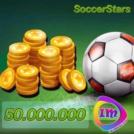 ۵۰۰۰۰۰۰۰ سکه ساکر استارز(۵۰ میلیون سکه)