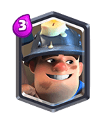 clash royale miner - عرشه ماینر دارت گوبلین