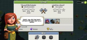 versus battles victory 300x140 - دهکده دوم کلش آف کلنز