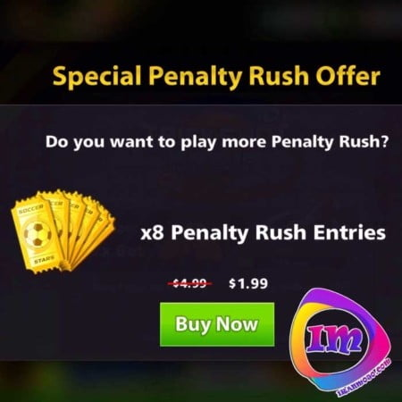 دریافت افر Penalty Rush ساکر استارز