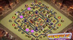 anti miner anti bowler war base th11. 300x167 - ضد معدنچی