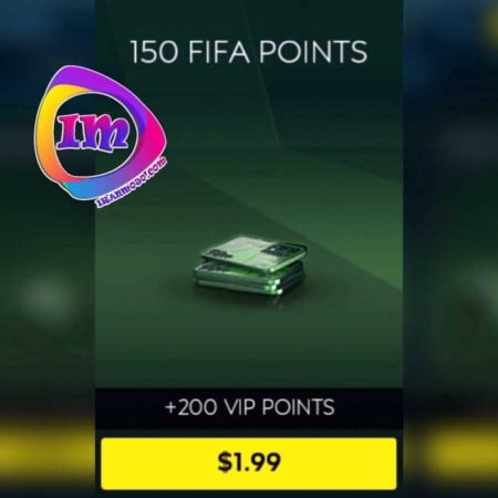خرید ۱۵۰ پوینت بازی fifa mobile