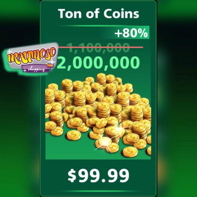۲۰۰۰۰۰۰ سکه فوتبال استریک(۲میلیون)