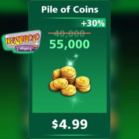 خرید ۵۵۰۰۰ سکه فوتبال استریک