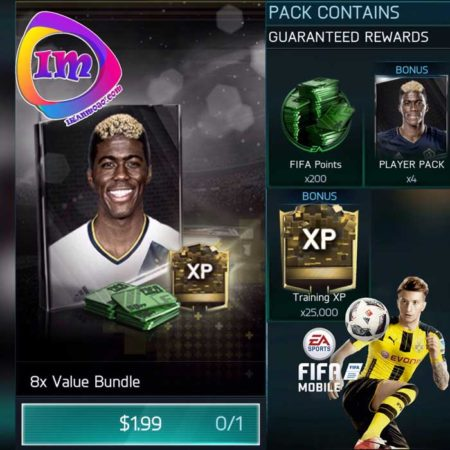 پک Player Bundle فیفا موبایل