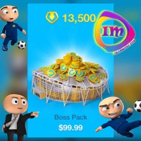 دریافت Boss Pack OSM(شامل ۱۳۵۰۰ جم)