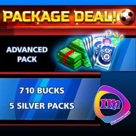 ایونت Package Deal-Advanced Pack(شامل۷۱۰دلارو۵پک نقره)