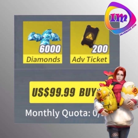 ماهانه Monthly Special Offer 2 Rules of survival