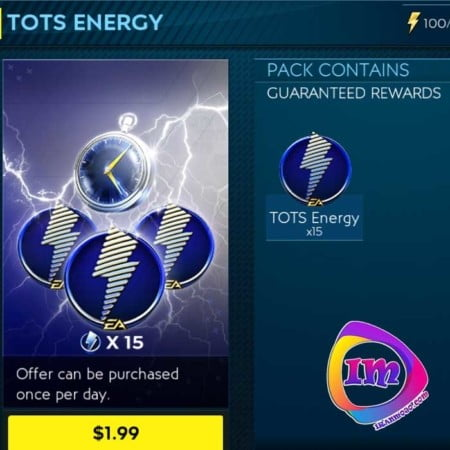 TOTS ENERGY فیفا موبایل