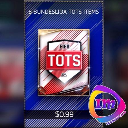 پک ۵Bundesliga Tots Items فیفا موبایل