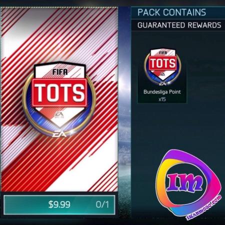 پک Bundesliga Tots Special فیفا موبایل