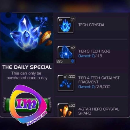 خرید پک The Daily Special بازی marvel contest of champions