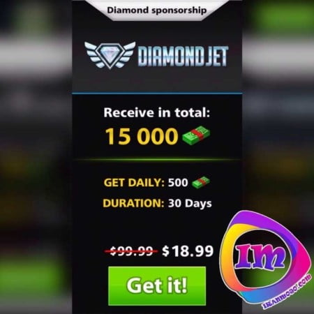 خرید آسان Diamond sponsorship ساکر استارز