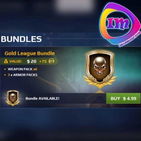Gold League Bundle مدرن کمبت