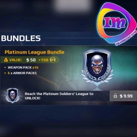 Platinum League Bundle مدرن کمبت