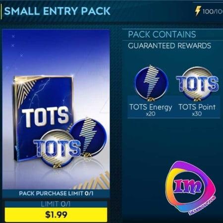 خرید Small Entry Pack فیفا موبایل