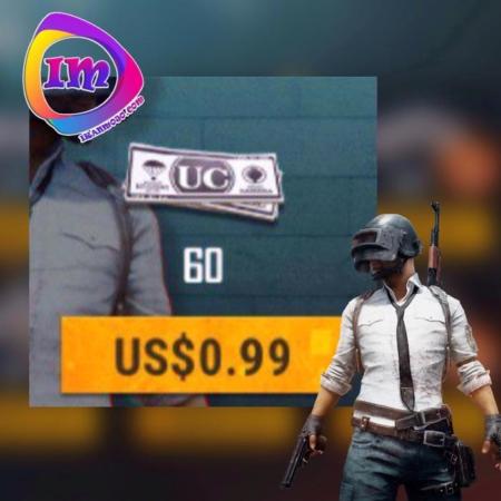 ۶۰ UC بازی PUBG MOBILE