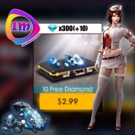 ۳۱۰ الماس Garena Free Fire
