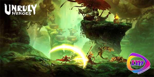 تاریخ انتشار بازی Unruly heroes برای پلی استیشن ۴