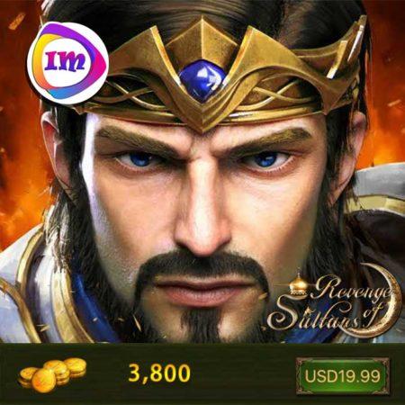 3800 سکه بازی انتقام سلطان