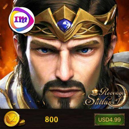800 سکه بازی انتقام سلطان