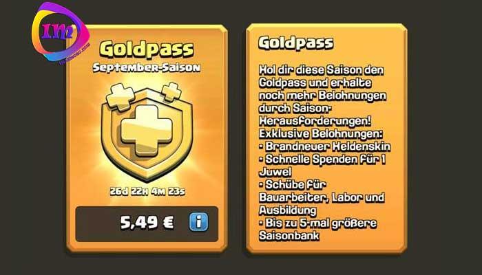 تهیه بلیط طلایی Gold Pass