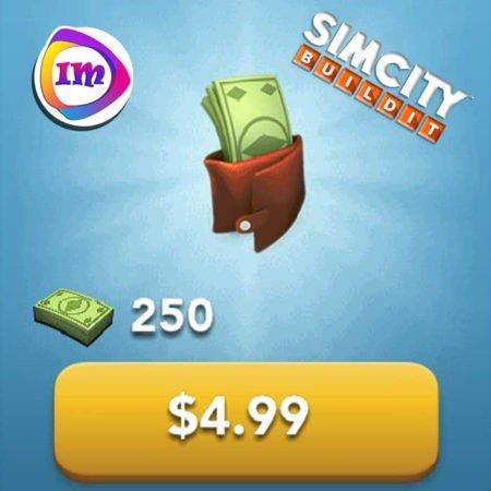 ۲۵۰ دلار بازی SimCity