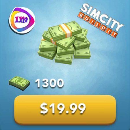 ۱۳۰۰ دلار بازی SimCity