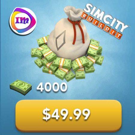 ۴۰۰۰ دلار بازی SimCity