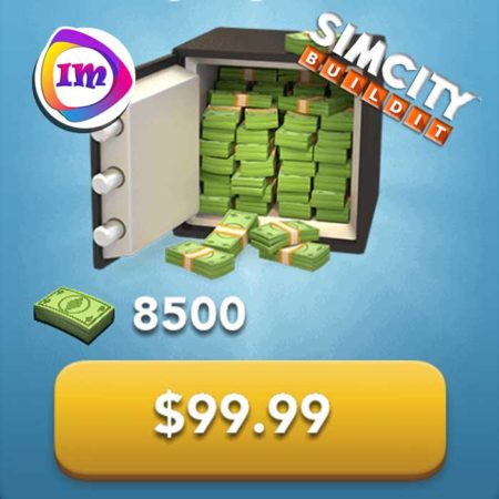 ۸۵۰۰ دلار بازی SimCity