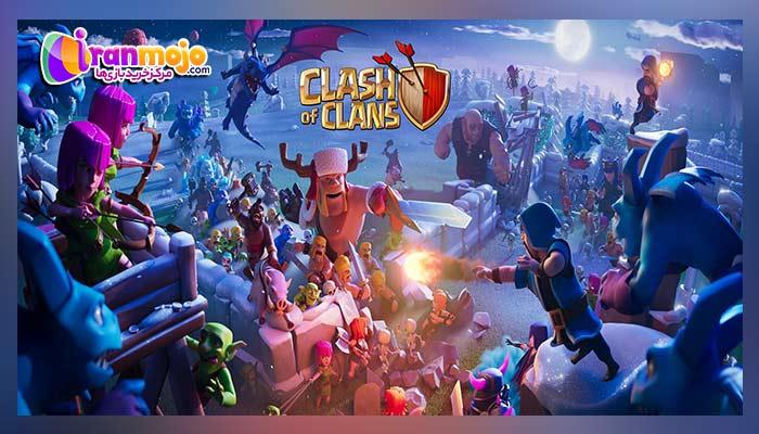 نحوه تغییر ایمیل در بازی Clash