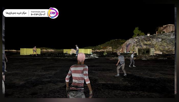 بازی با حالت شب پابجی موبایل