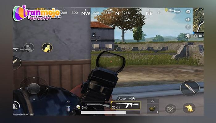 نحوه تنطیم شیب تفنگ در بازی oubg Mobile