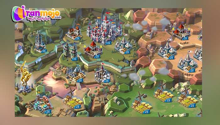 ویژگی های بازی لوردز موبایل