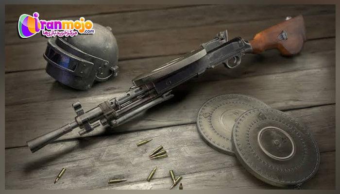 معرفی اسلحه DP-28 در پابجی موبایل