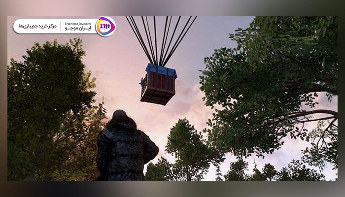 ایردراپ (airdrop) بازی پابجی موبایل در بازی PUBG