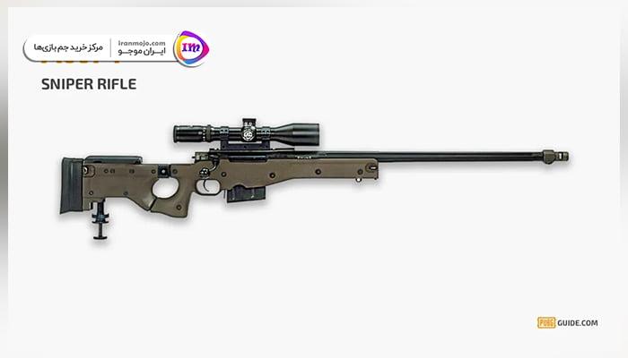 بهترین سلاح های اسنایپ بازی پابجی موبایل PUBG Mobile