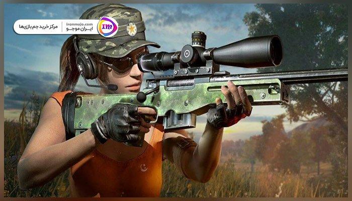 استفاده از suppressors در اسلحه bolt-action snipers پابجی