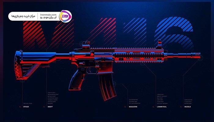 معرفی بهترین اسلحه AR پابجی موبایل