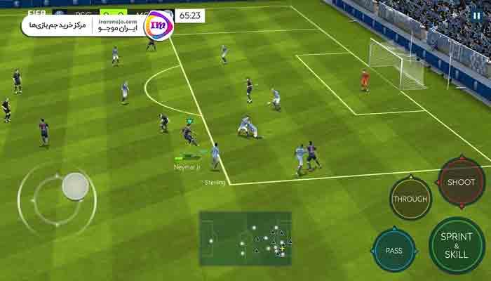 آموزش بازی فیفا موبایل