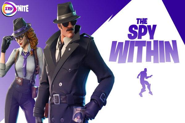 "Fortnite حالت جدید ""Spy Within"" را شبیه به Among Us دریافت میکند 2"